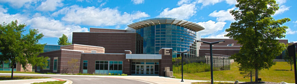 Picture of Forest Hills Michigan high school