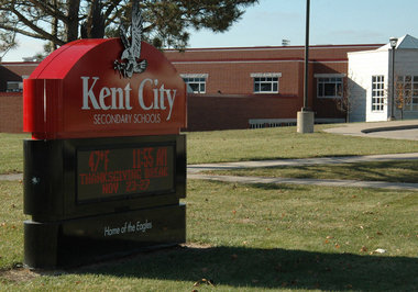 Photo of Michigan Kent City high school