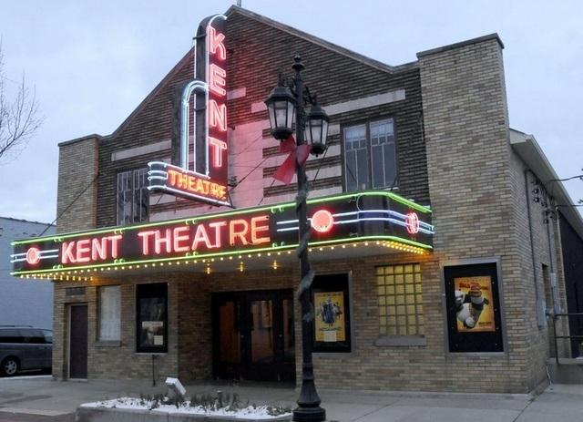 Image of kent theatre in Cedar Springs MI
