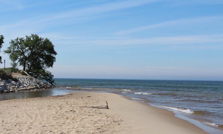 Image of North Muskegon beach
