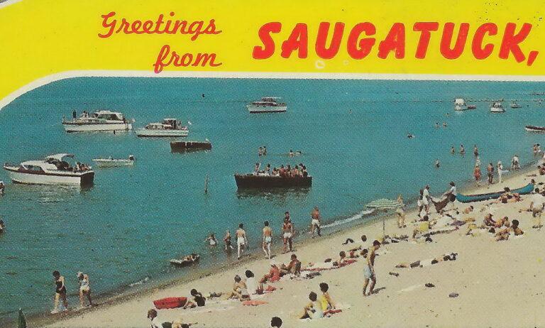 Image of Saugatuck Michigan post card