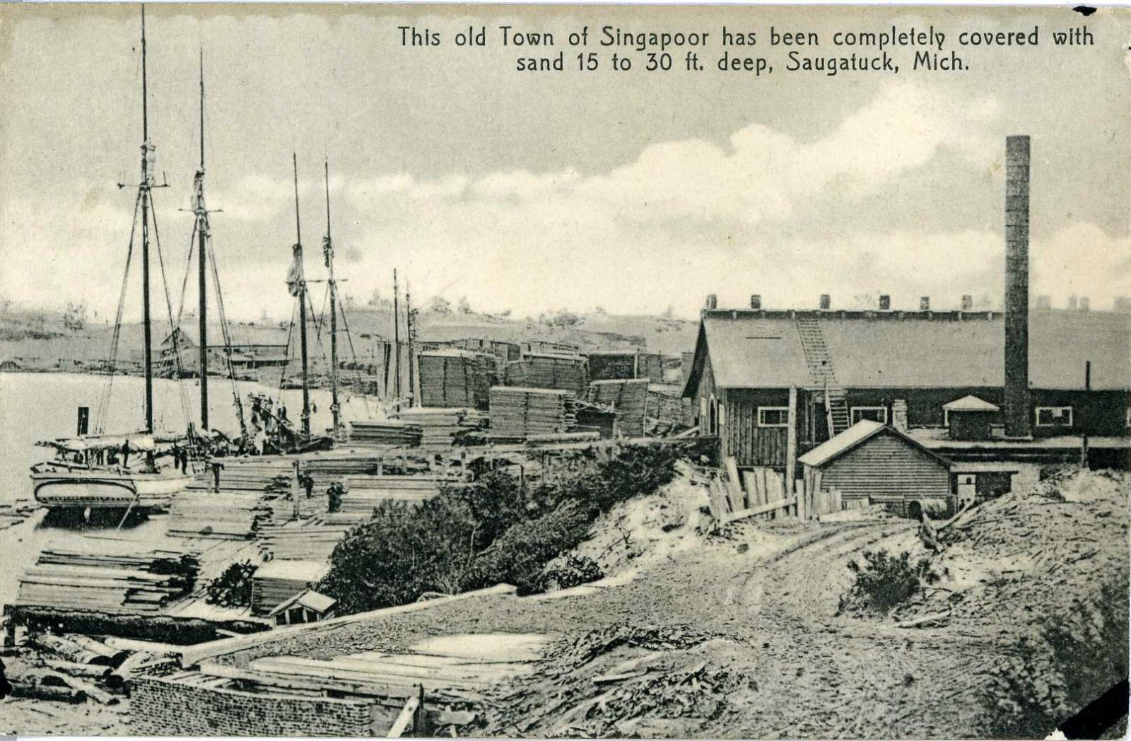 Historical photo of saugatuck