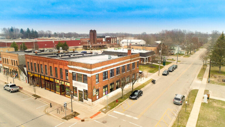 Picture of downtown Fennville, MI