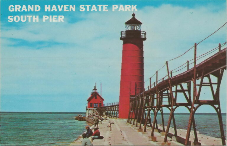 Image of grand haven state park pier