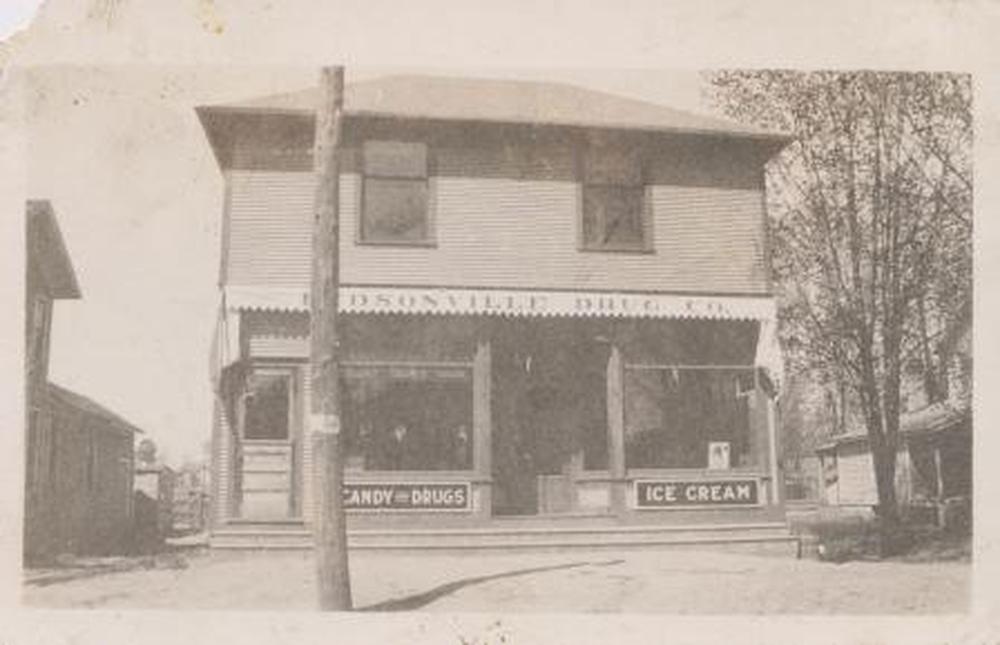 Image of historical Hudsonville Michigan
